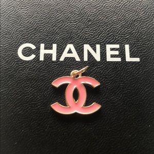 Authentic Chanel enamel hardware